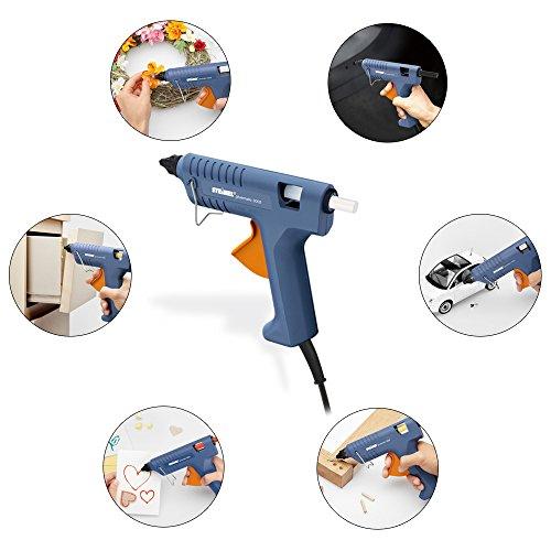 Steinel Heißklebe-Pistole Gluematic 3002, inkl. Koffer und 8 Klebesticks 11 mm, Basteln, Reparieren, Dekorieren