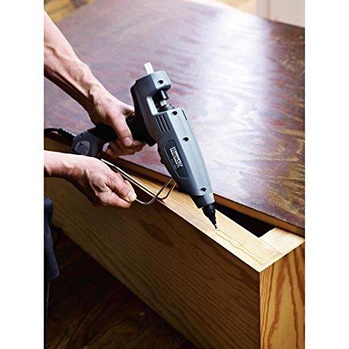 Rapid Heiβklebepistole EG380, 12mm Industrielle Klebepistole für Montage und große Flächen, 2.200 g/Std. Kleberfördermenge, 400W